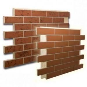 Фасадные панели «под кирпич»