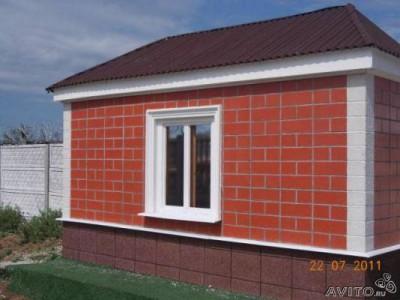 Пример отделки дома фасадными теплопанелями