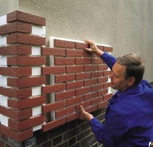 Монтаж термопанелей на стену дома
