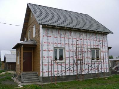 Утепление фасада дома и обшивка сайдингом