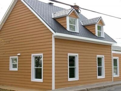 Отделка фасадов зданий металлическим сайдингом