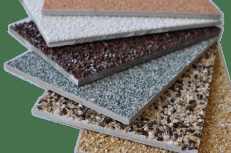Варианты фиброцементных плит для отделки фасадов зданий