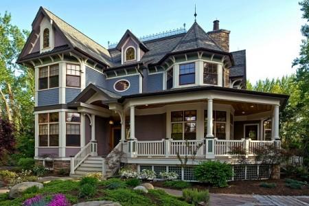 Изысканный дизайн фасада дома