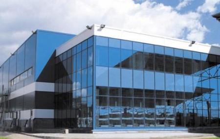 Пример остекления фасадов здания