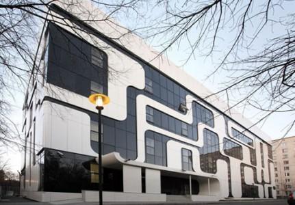 Современный фасад здания