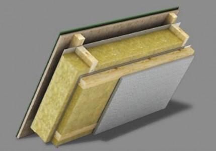 Пример базальтовой плиты для утепления