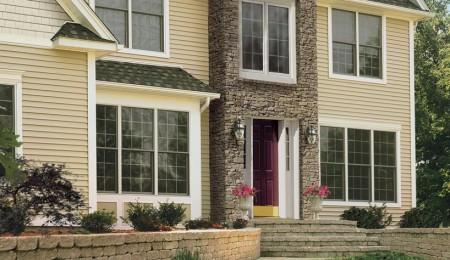 Использование американского сайдинга для отделки фасада дома