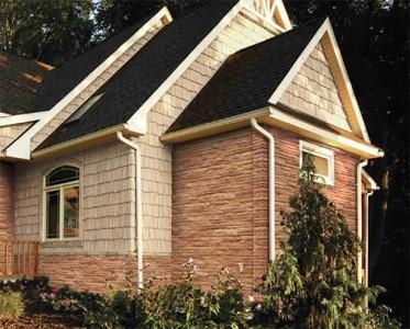 Использование американского сайдинга в отделке фасада дома