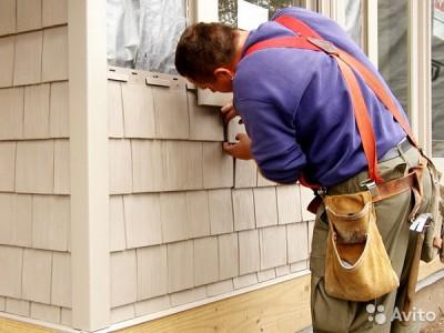 Монтаж американского сайдинга на стену дома