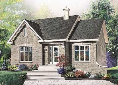 Дизайн фасада дома в стиле прованс