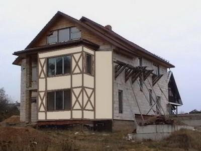 Стиль прованс в оформлении фасада здания