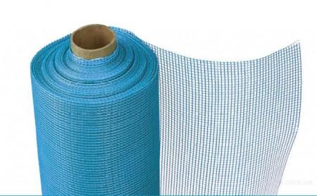 Пример фасадной сетки в рулоне