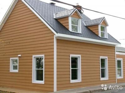 Металлический сайдинг для отделки фасада дома