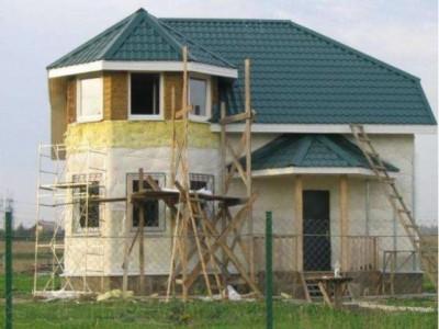 Утепление фасада дома перед монтажом сайдинга