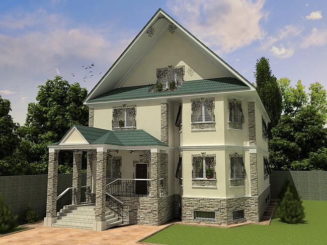 Оформление фасада дома своими руками