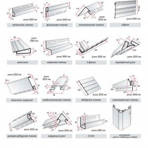 Планки для отделки окна сайдингом