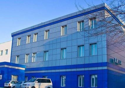 Фасад алюкобонд на многоэтажном здании