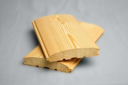 Природный окрас древесины лиственницы