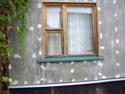 Ремонт фасада дома плитами ЦПС