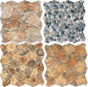 Фактурная керамогранитная плитка