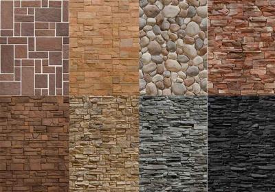 Виды отделки натуральным камнем