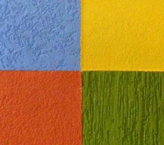 Структурные фасадные краски