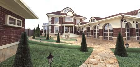 Дом в усадебном стиле