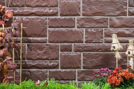 Фасад из полиуретановых панелей