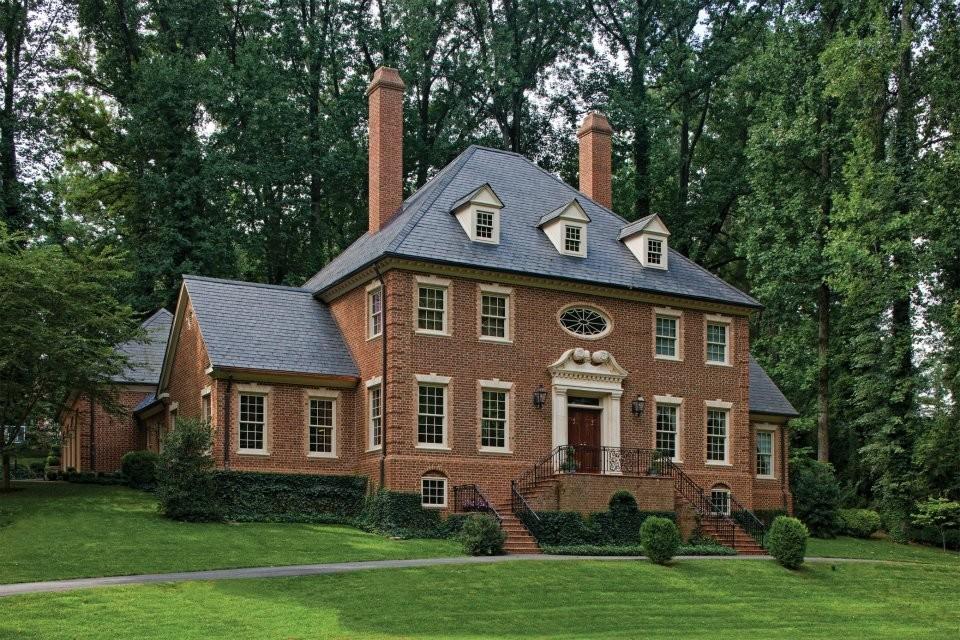 Дома в английском стиле фасады фото