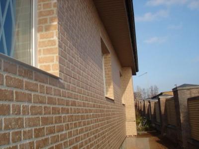 Фасад, отделанный фиброцементными плитами