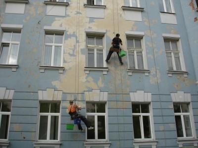 Реставрация многоэтажного дома