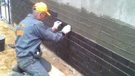 Установка фасадной плитки своими руками