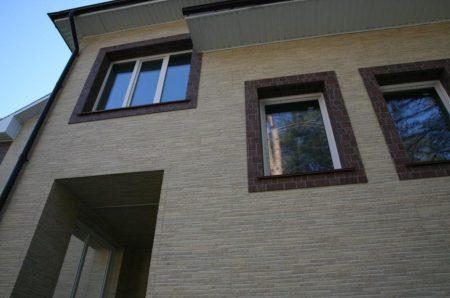 Отделка дома фиброцементными панелями