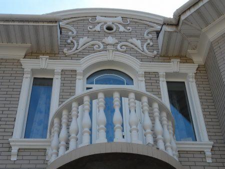 Фасадный декор из пенополиуретана