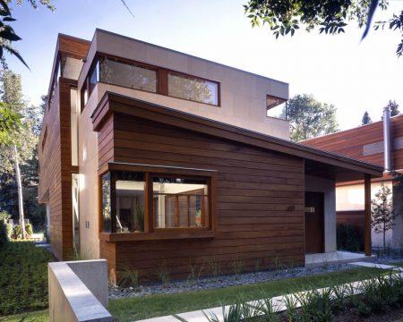 Выбор фасадов для деревянного дома