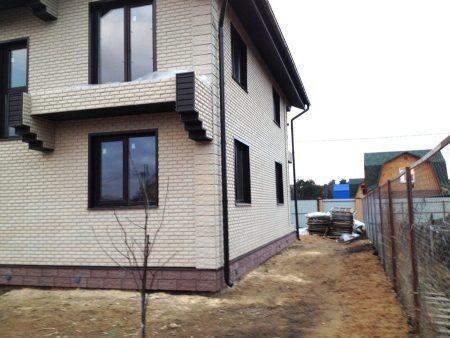 Монтаж фасадных панелей с утеплением