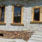 Правила выполнения облицовки фасада дома искусственным камнем