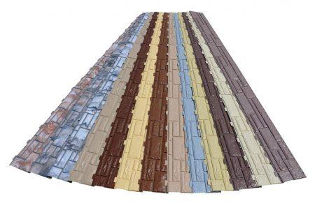 Популярность облицовки фасадов ПВХ панелями