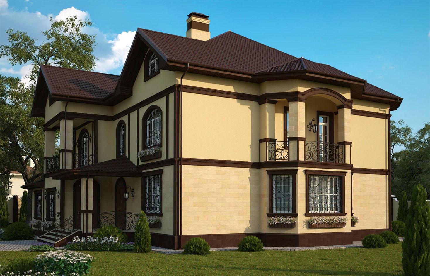 Делаем фасад своего дома теплым