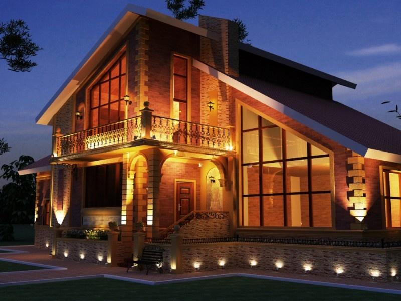 Фасадное освещение светильники